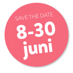 save the date 8-30 juni