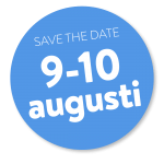 save the date 9-10 augusti
