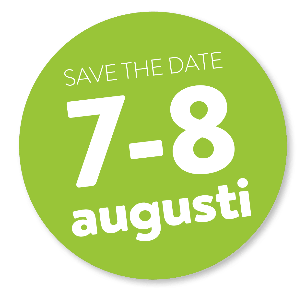 save the date 7-8 aug